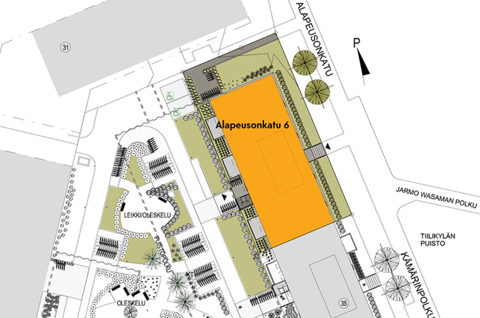 Tampere, Kaleva, Alapeusonkatu 6