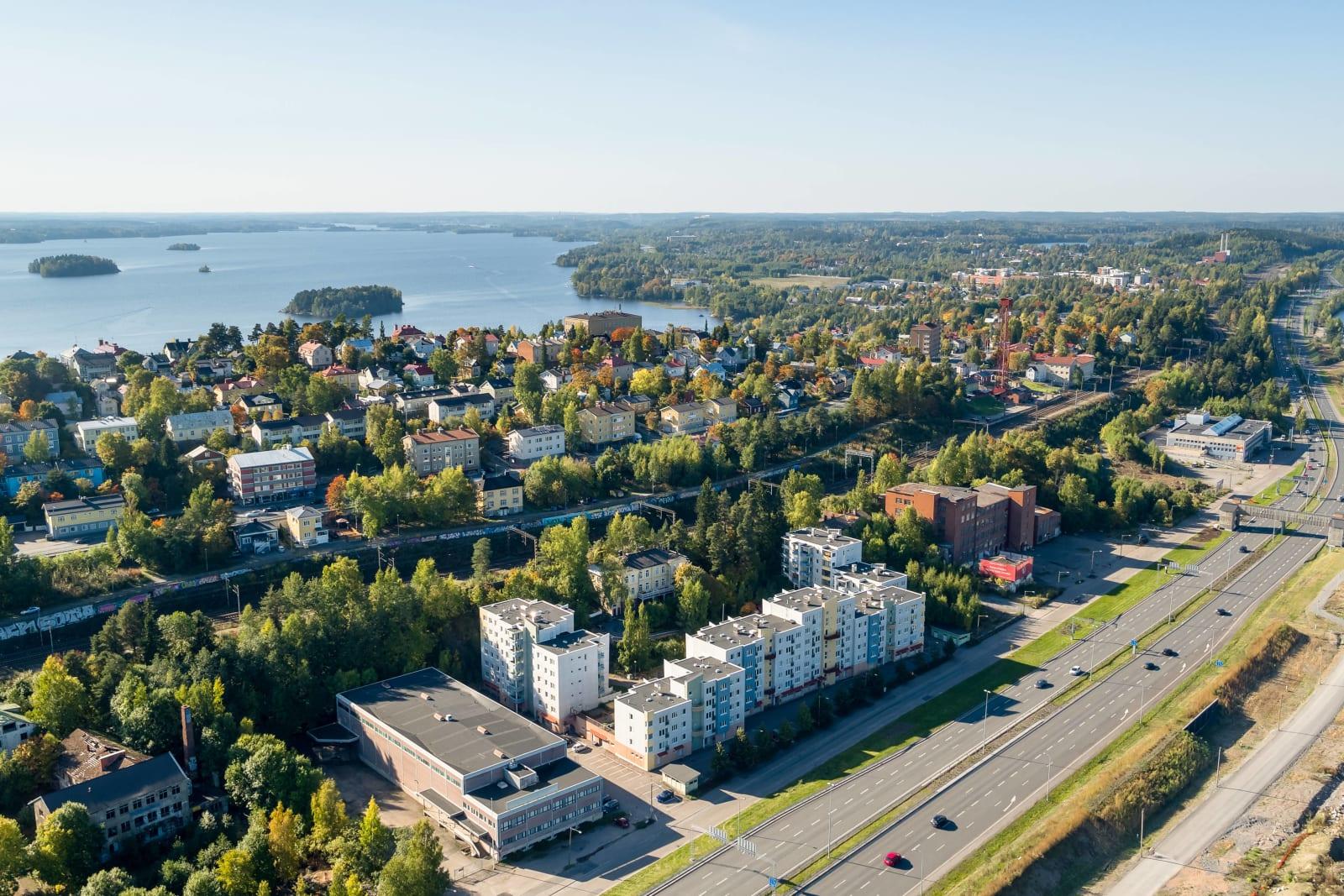 Tampere, Santalahti, Rantatie 25 E, Pahvitehtaanraitti 4 F-G