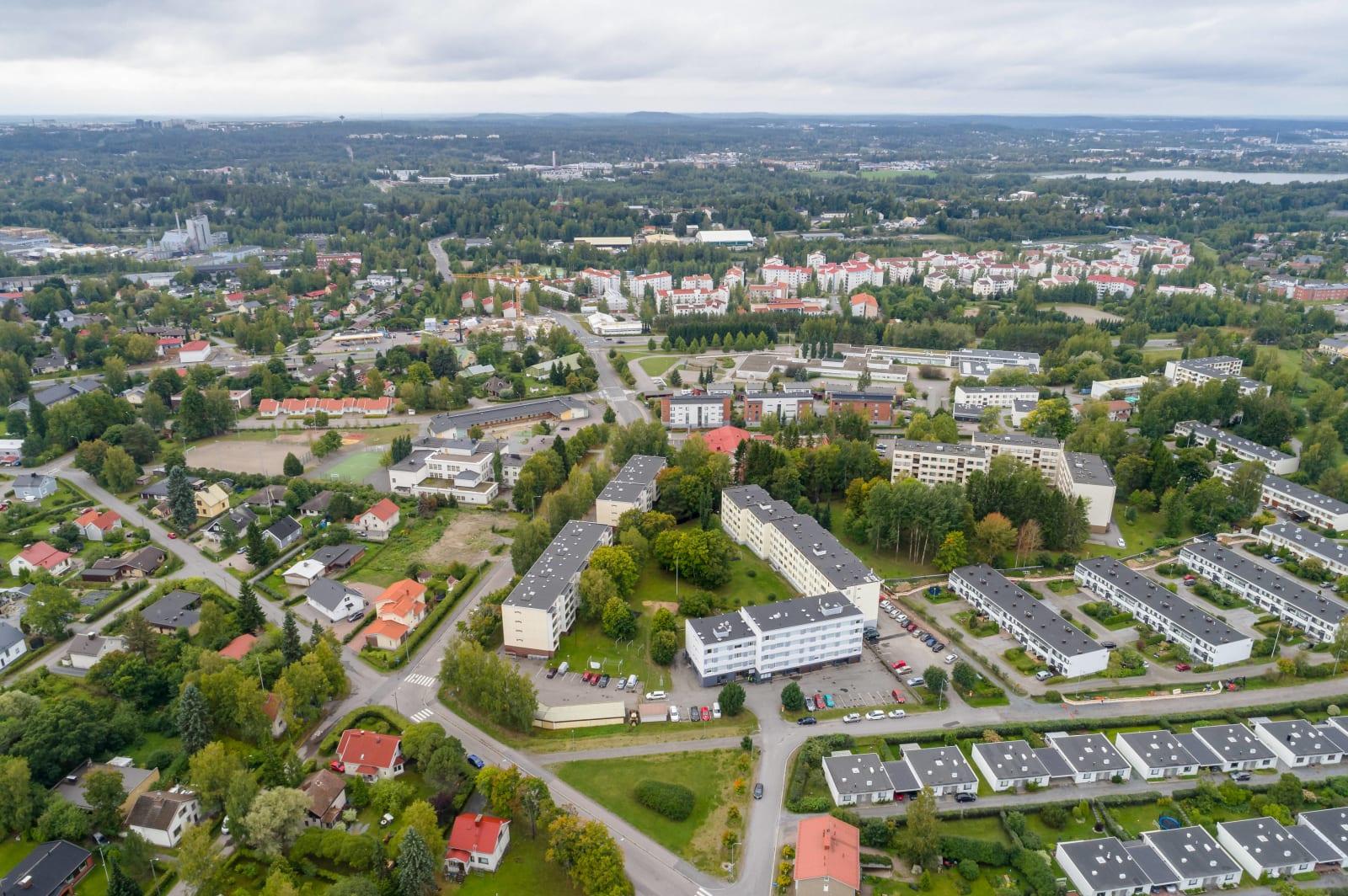 Tampere, Takahuhti, Linnankatu 14