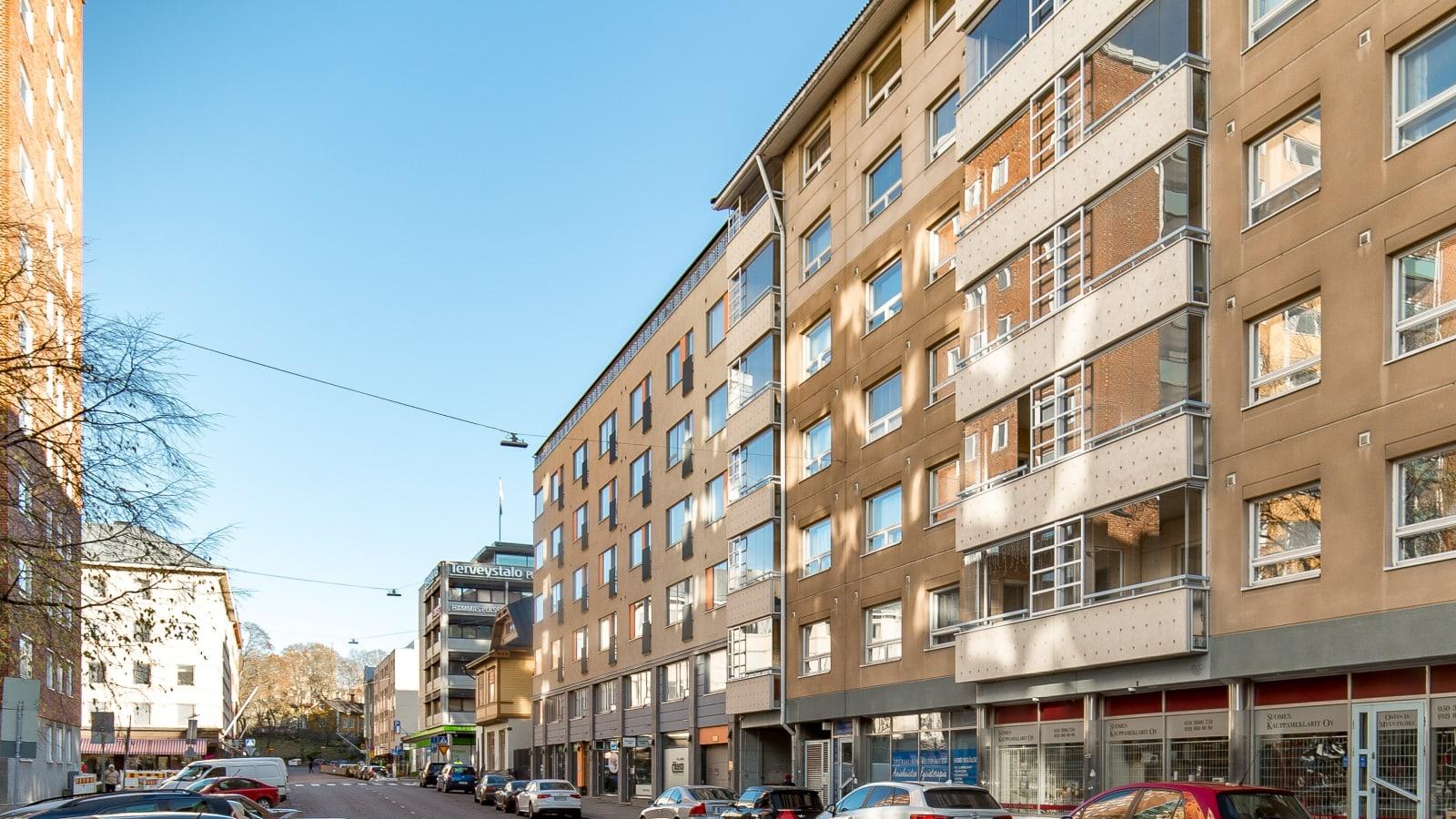 Turku, Keskusta, Rauhankatu 8a