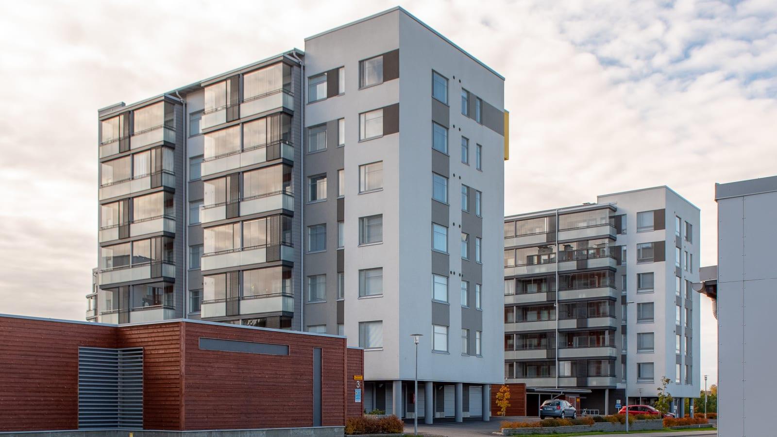 Turku, Länsikeskus, Gränsbackankuja 3