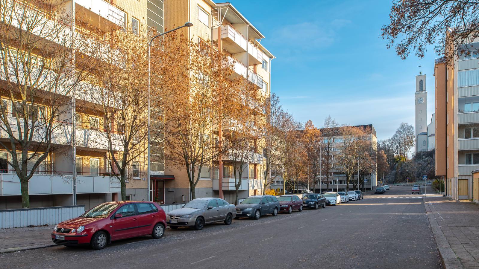 Turku, Martti, Vilhonkatu 9