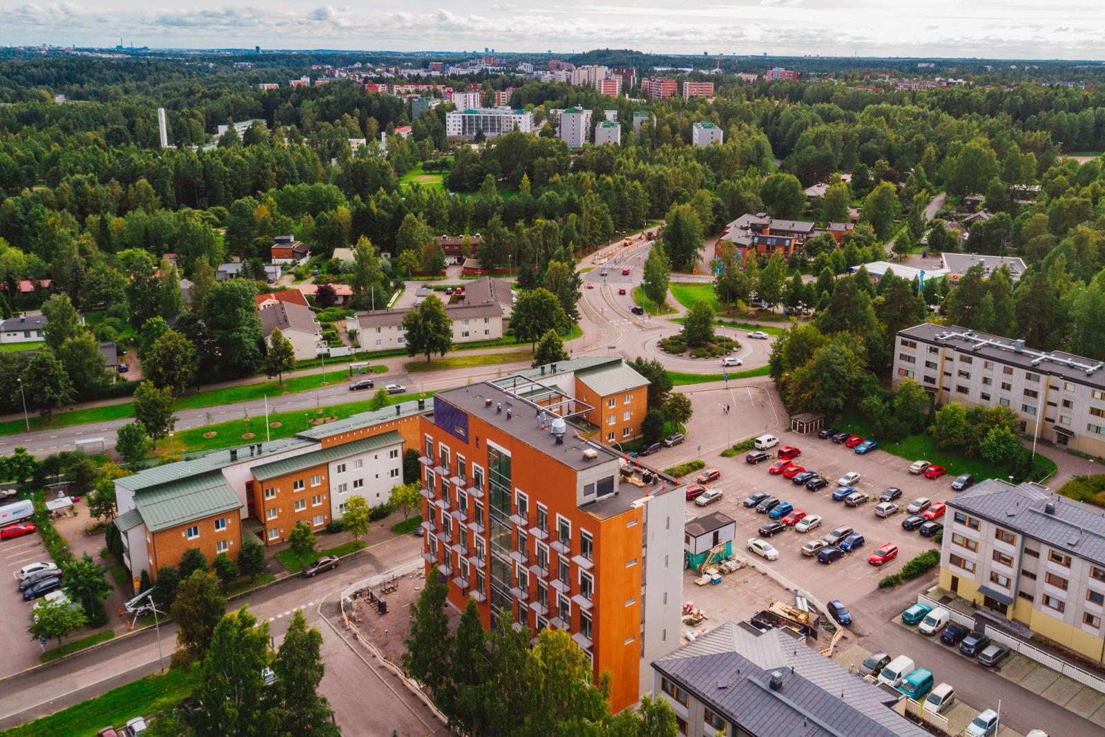 Vantaa, Martinlaakso, Raikukuja 4b