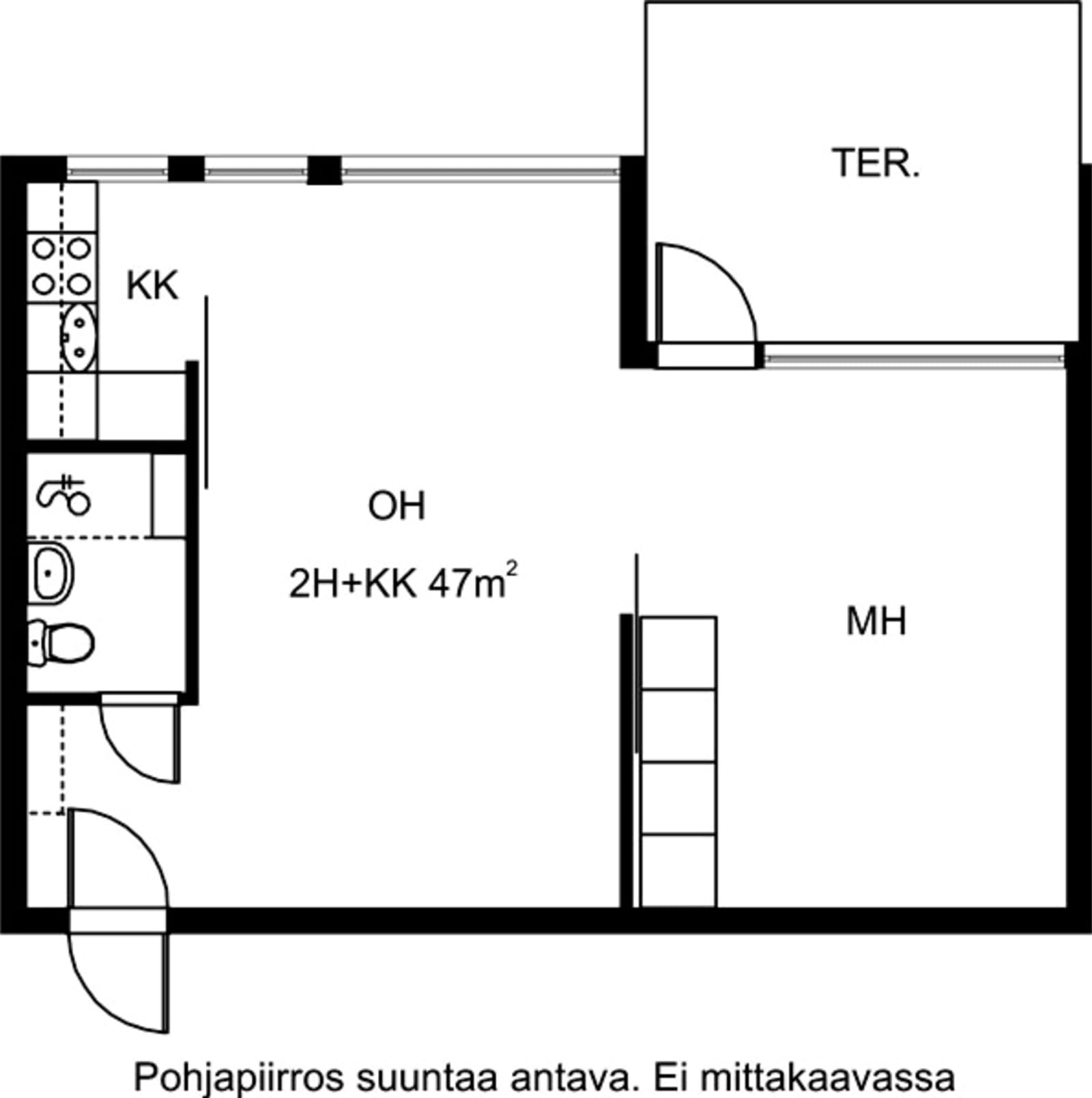 Espoo, Karakallio, Kotkatie 6 B 011