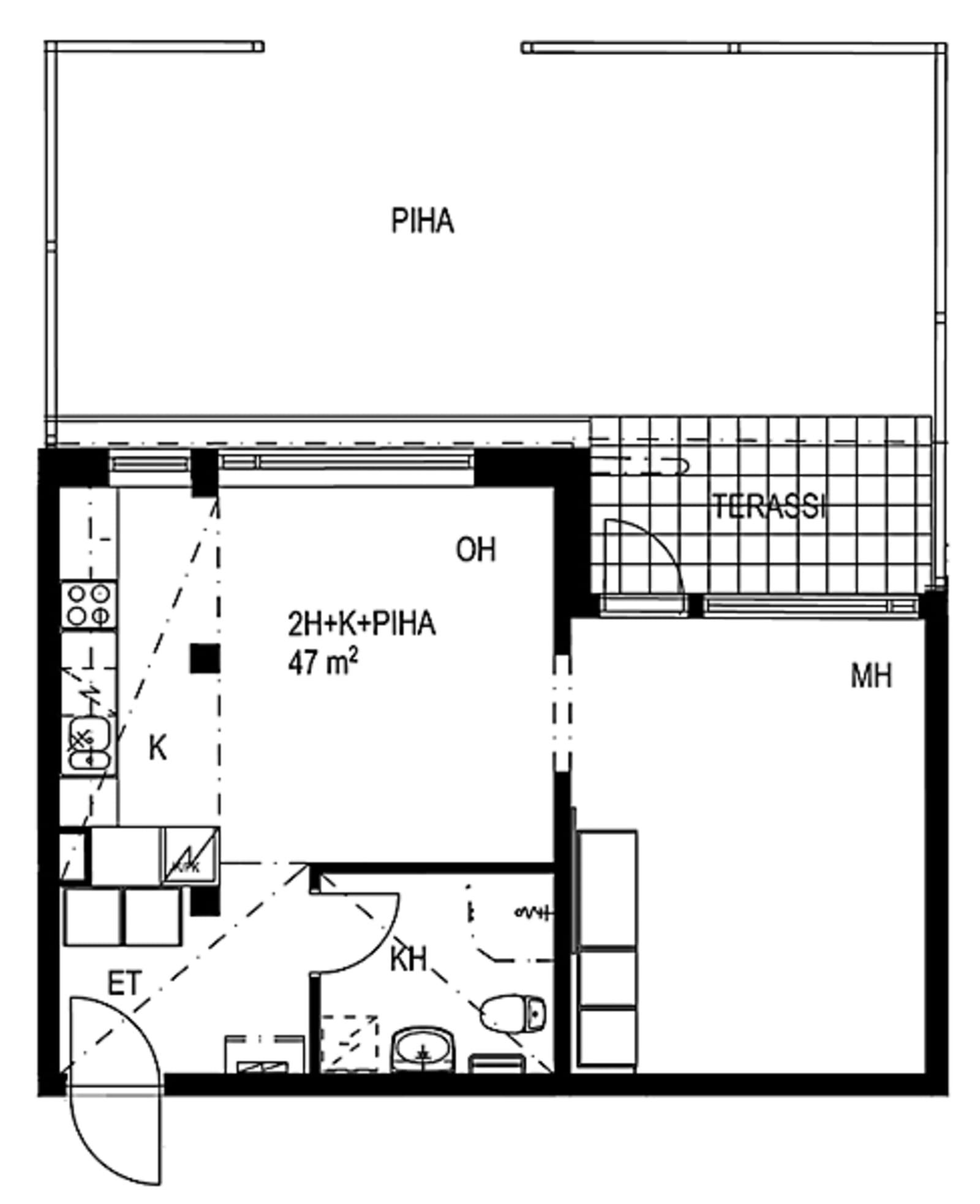 Espoo, Karakallio, Kotkatie 6 A 118
