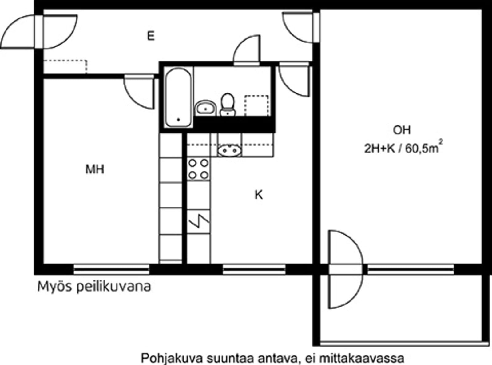 Espoo, Laajalahti, Kirvuntie 18 C-D C 040
