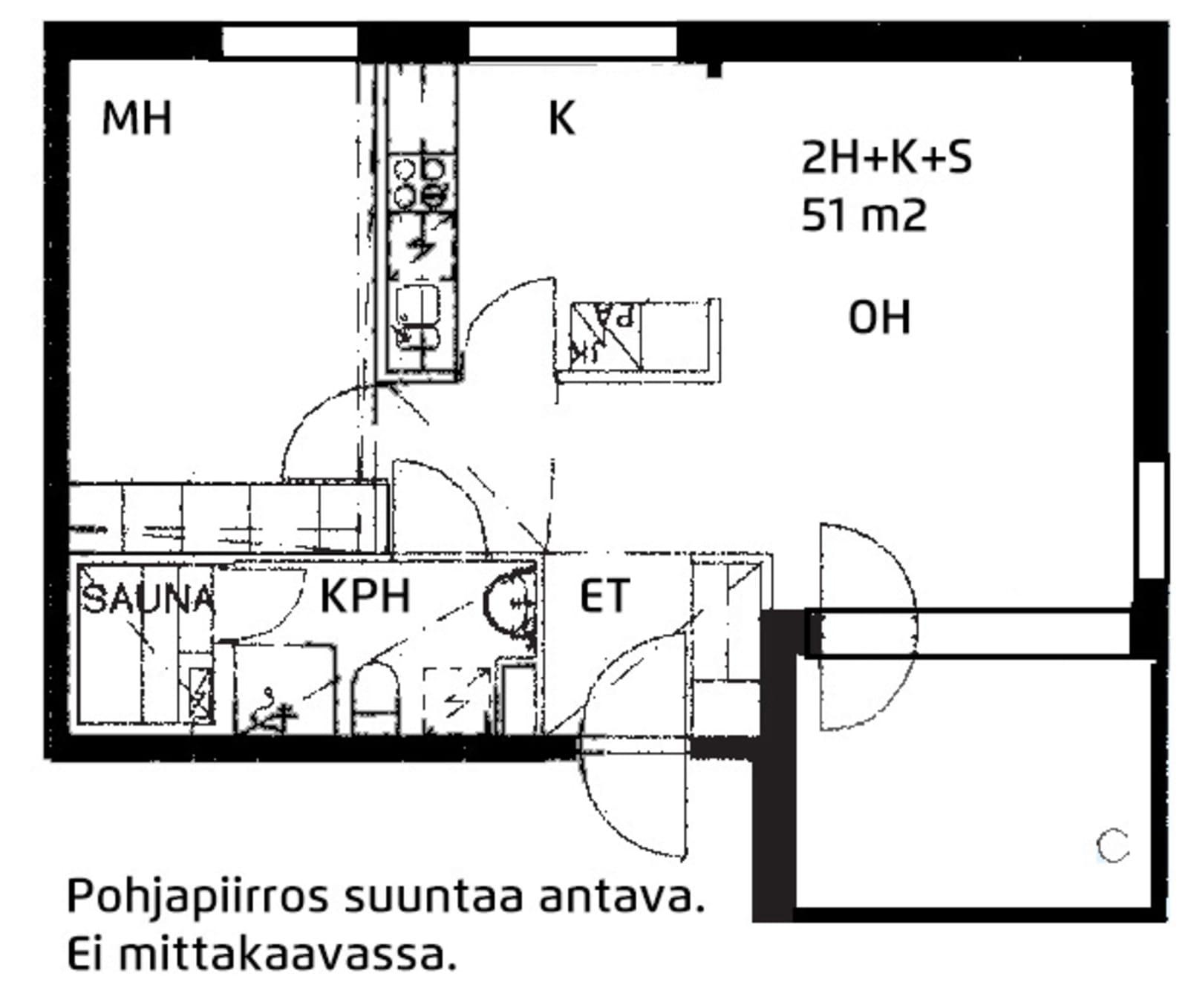 Espoo, Leppävaara, Säterinkatu 10 A 004