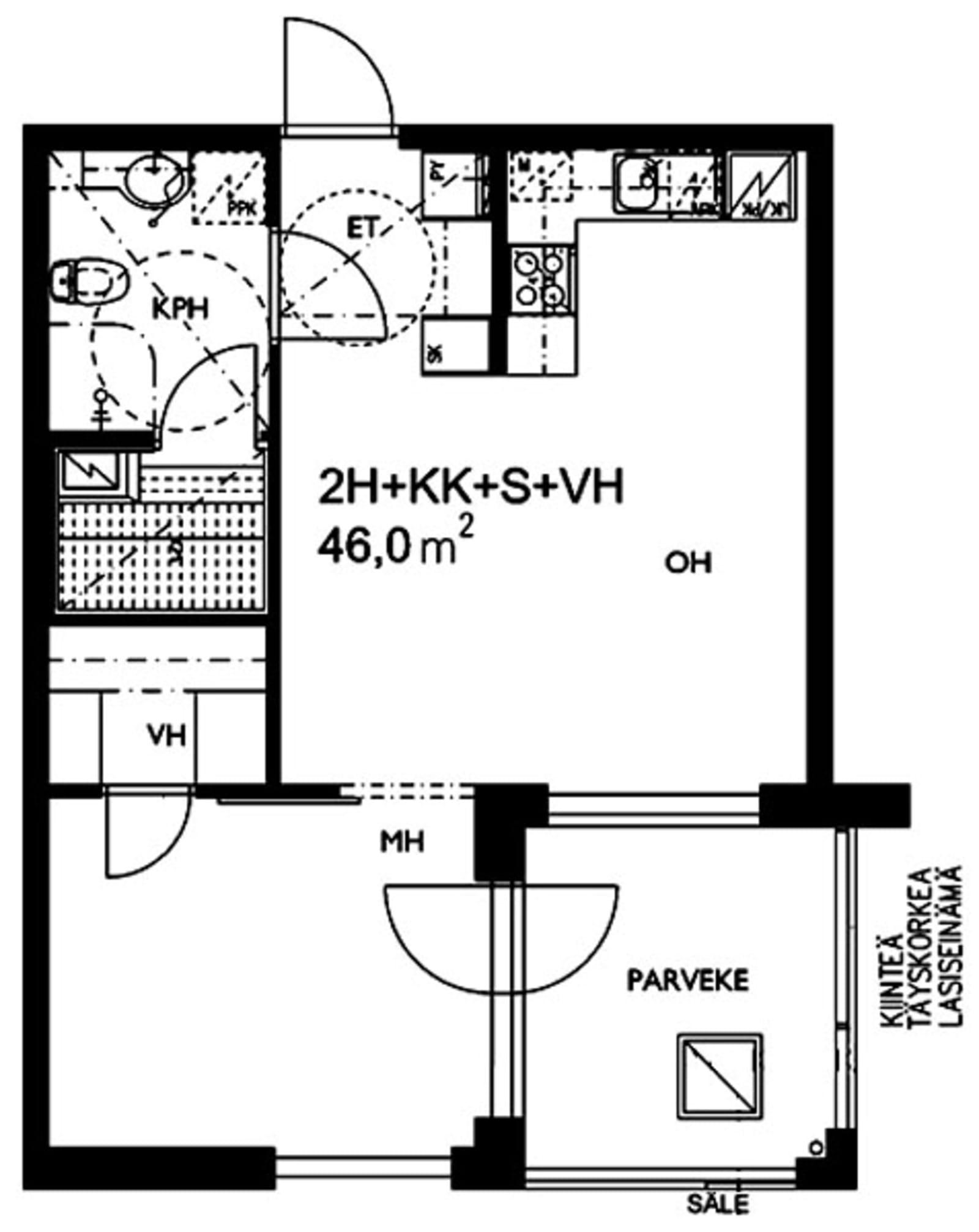 Espoo, Matinkylä, Nelikkokuja 12 A 008