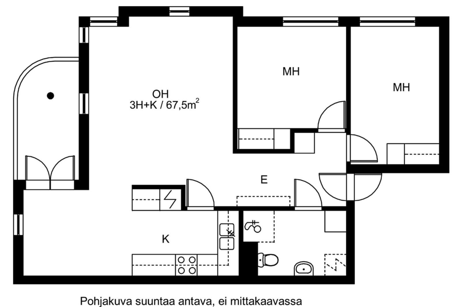 Espoo, Matinkylä, Kala-Matti 3 A 002