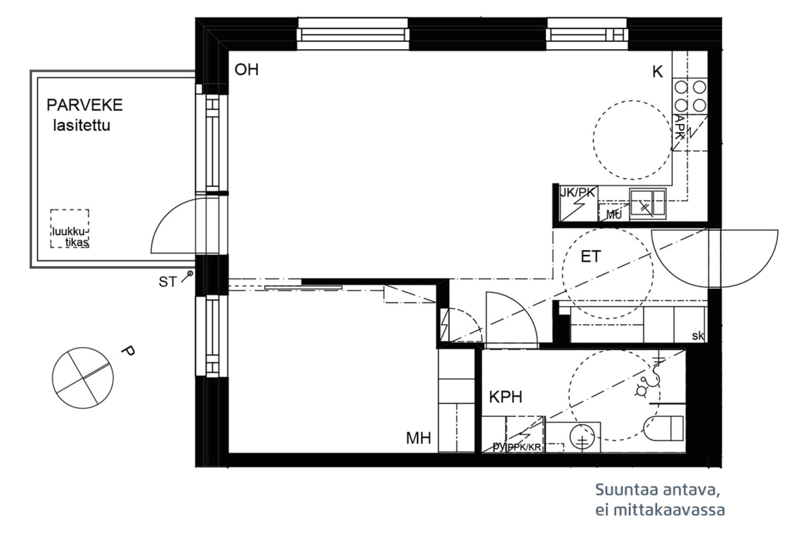 Espoo, Soukka, Soukanniementie 1 B 047