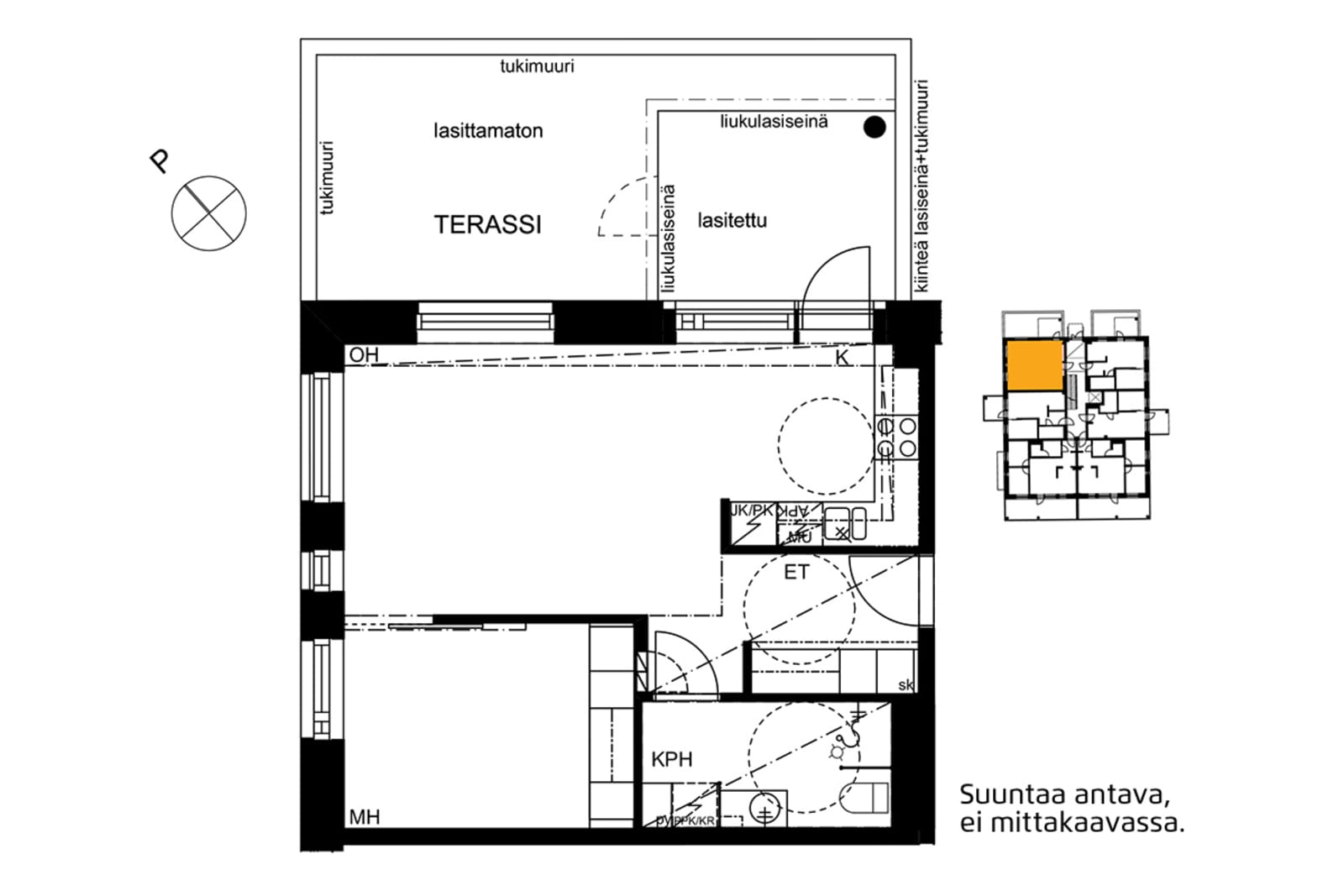 Espoo, Soukka, Kilvoituksentie 1 B 022