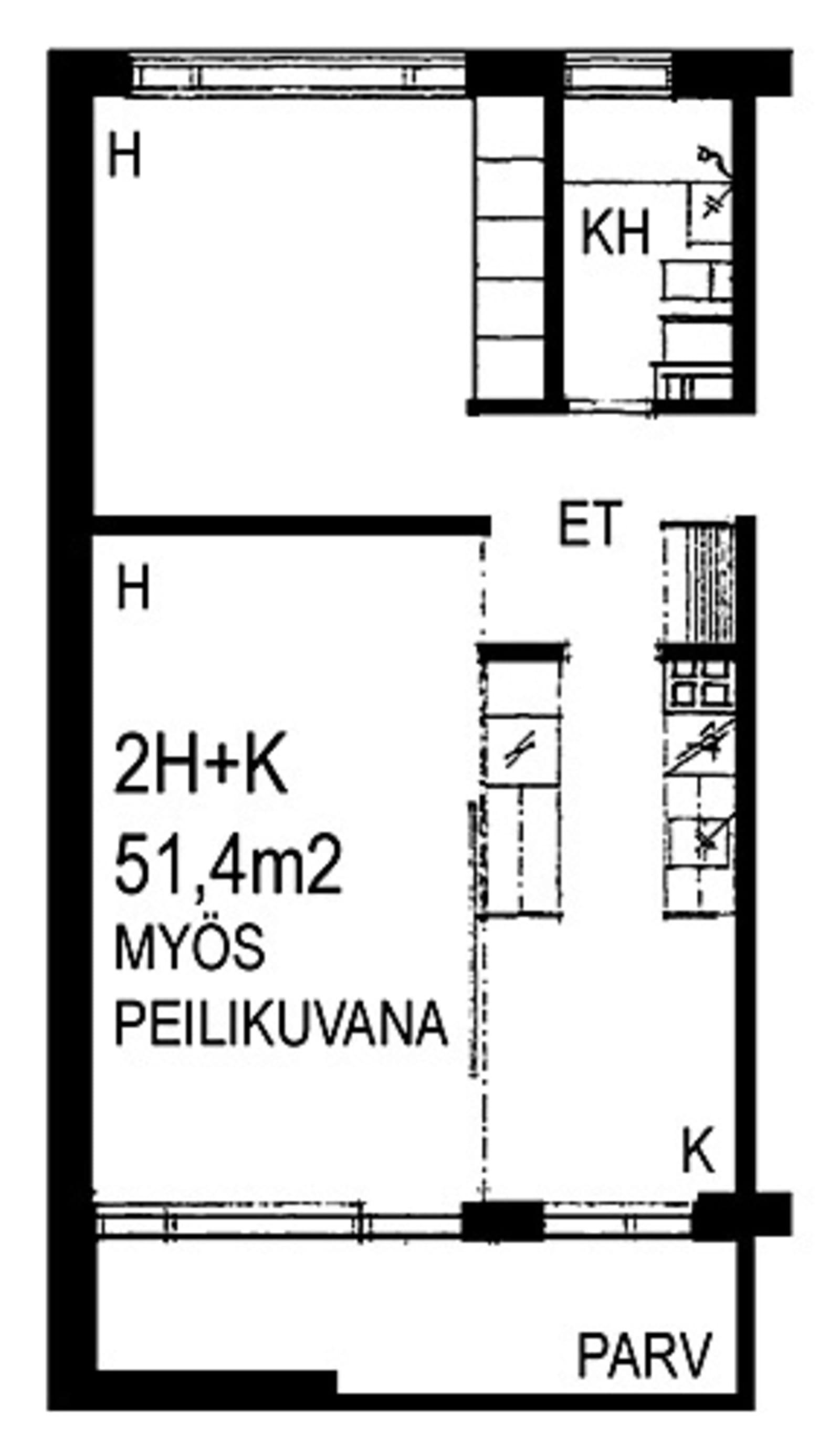 Espoo, Viherlaakso, Viherlaaksonranta 3 B 027
