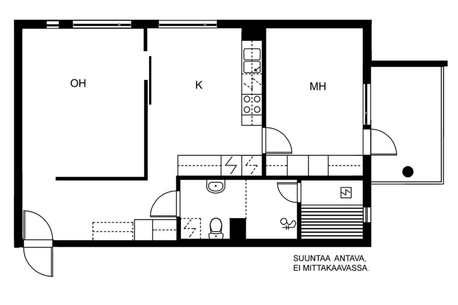 Espoo, Westend, Mäenrinne 3-5 F 048