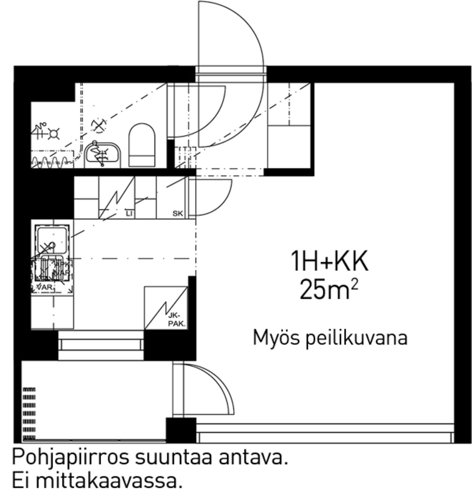 Helsinki, Etelä-Haaga, Vanha viertotie 8 B 017