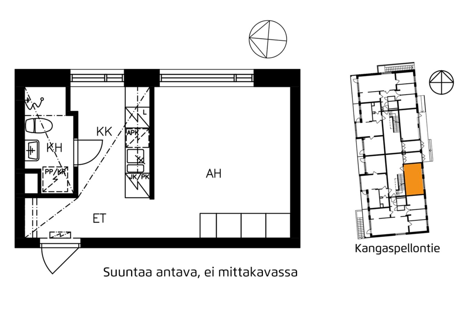 Helsinki, Etelä-Haaga, Kangaspellontie 5 A 001