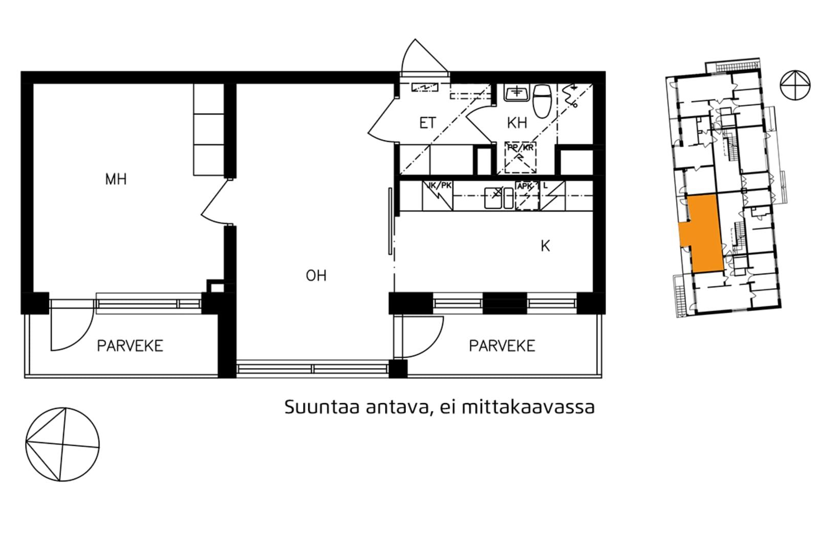 Helsinki, Etelä-Haaga, Kangaspellontie 5 A 003