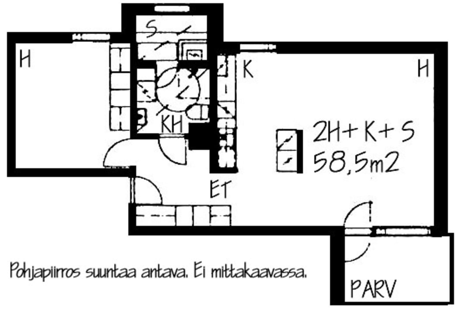 Helsinki, Herttoniemi, Laivalahdenkaari 8 B 036