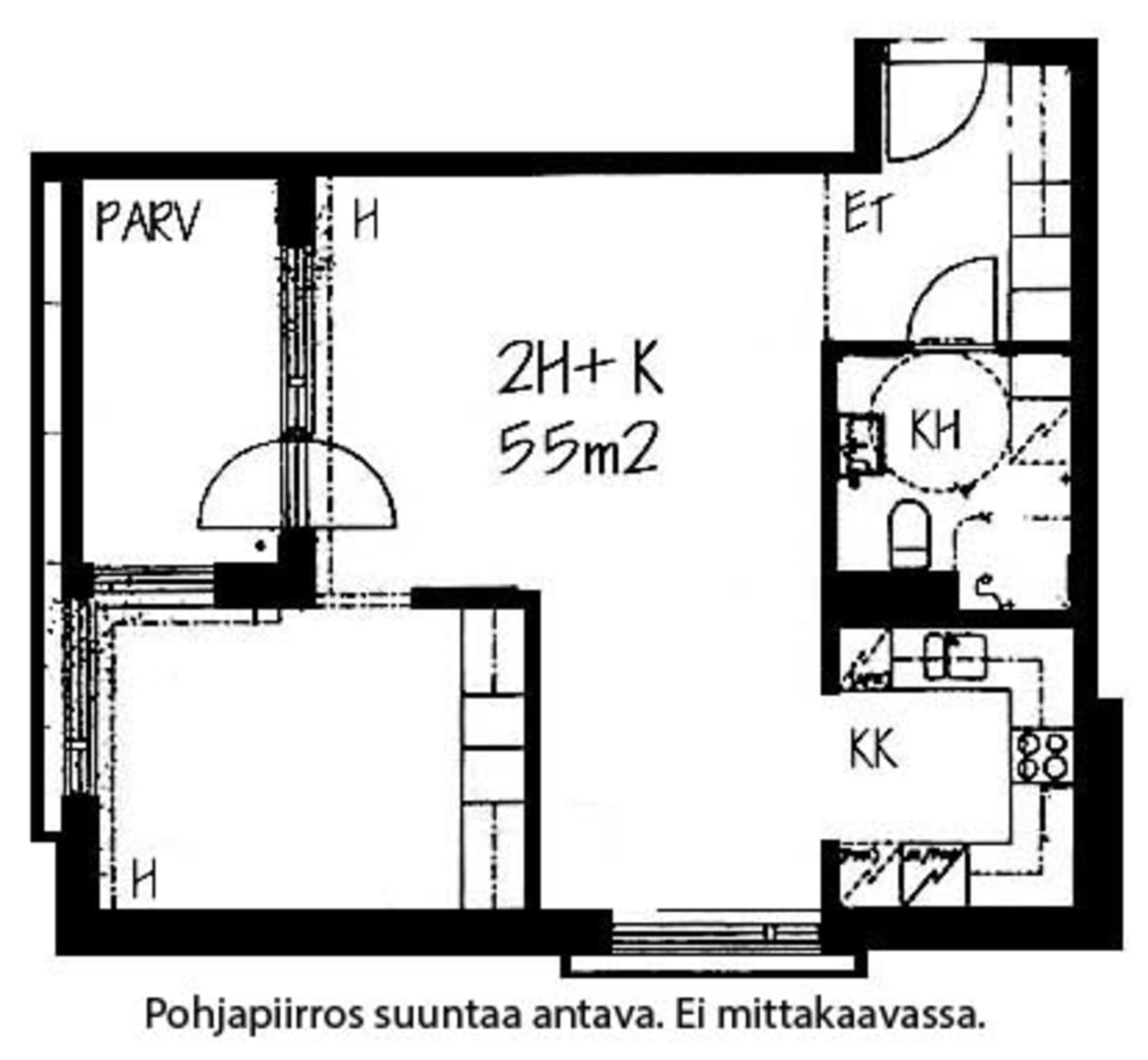 Helsinki, Herttoniemi, Laivalahdenportti 5 A 004