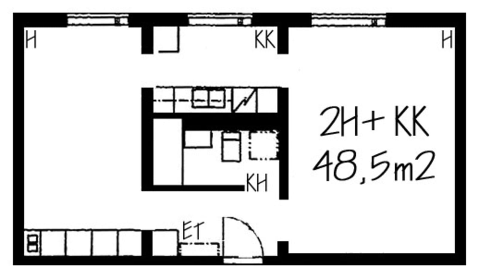Helsinki, Itä-Pasila, Sähköttäjänkatu 4 A 014