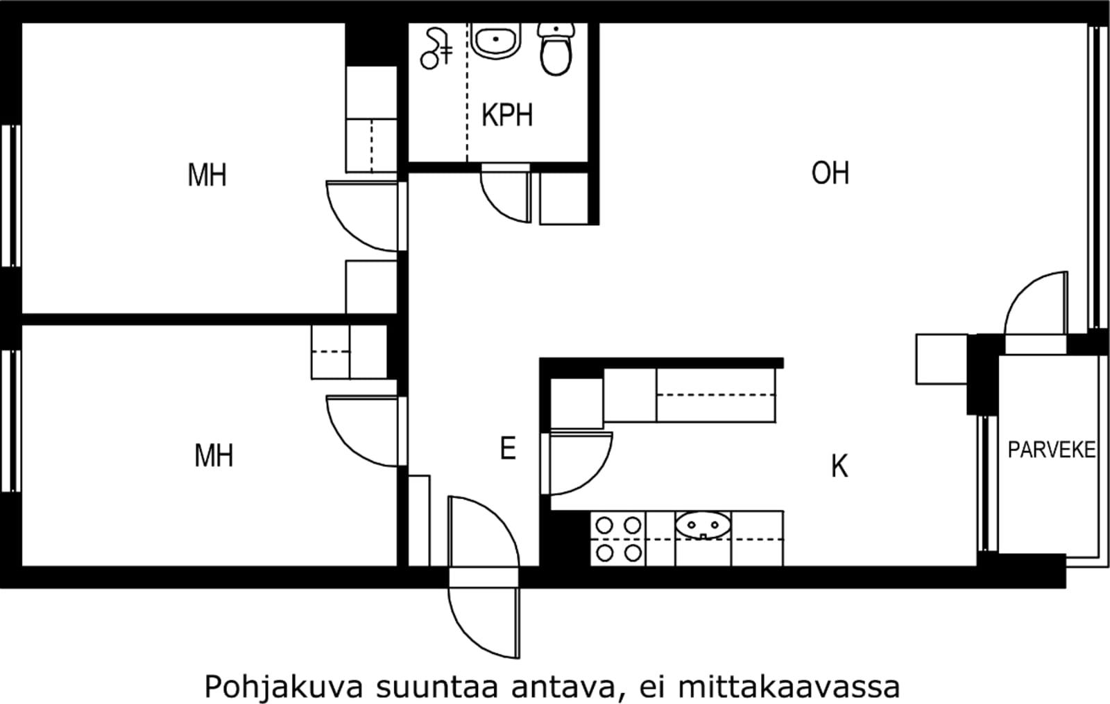 Helsinki, Itäkeskus, Kajaaninlinnantie 1 C 023