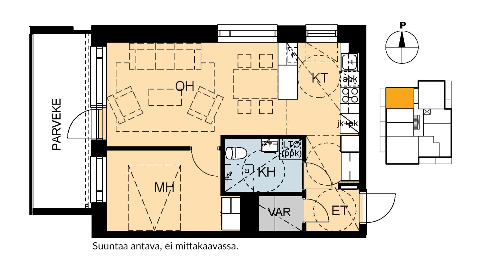 Helsinki, Kontula, Keinulaudantie 7a