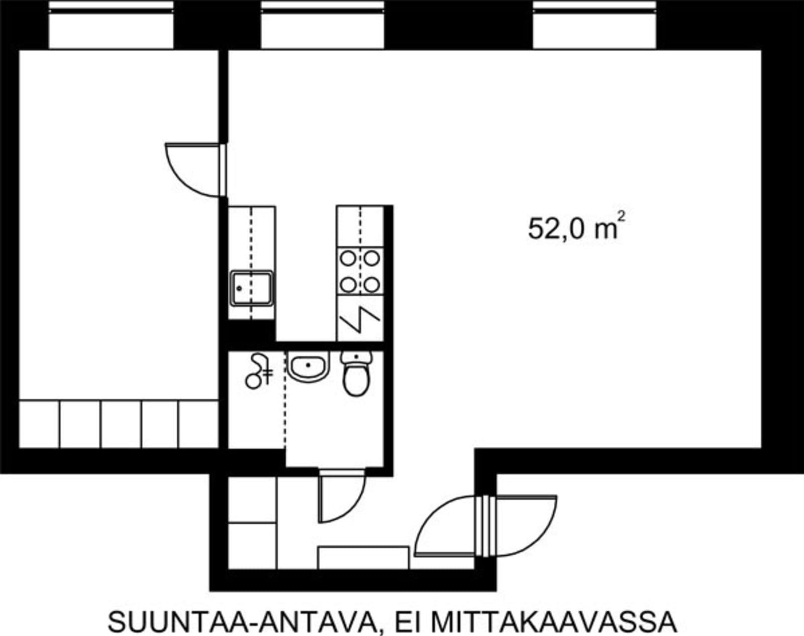 Helsinki, Kruununhaka, Snellmaninkatu 23 C 028
