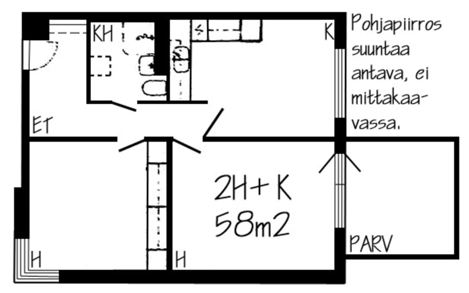Helsinki, Malminkartano, Pihkatie 5 D 025