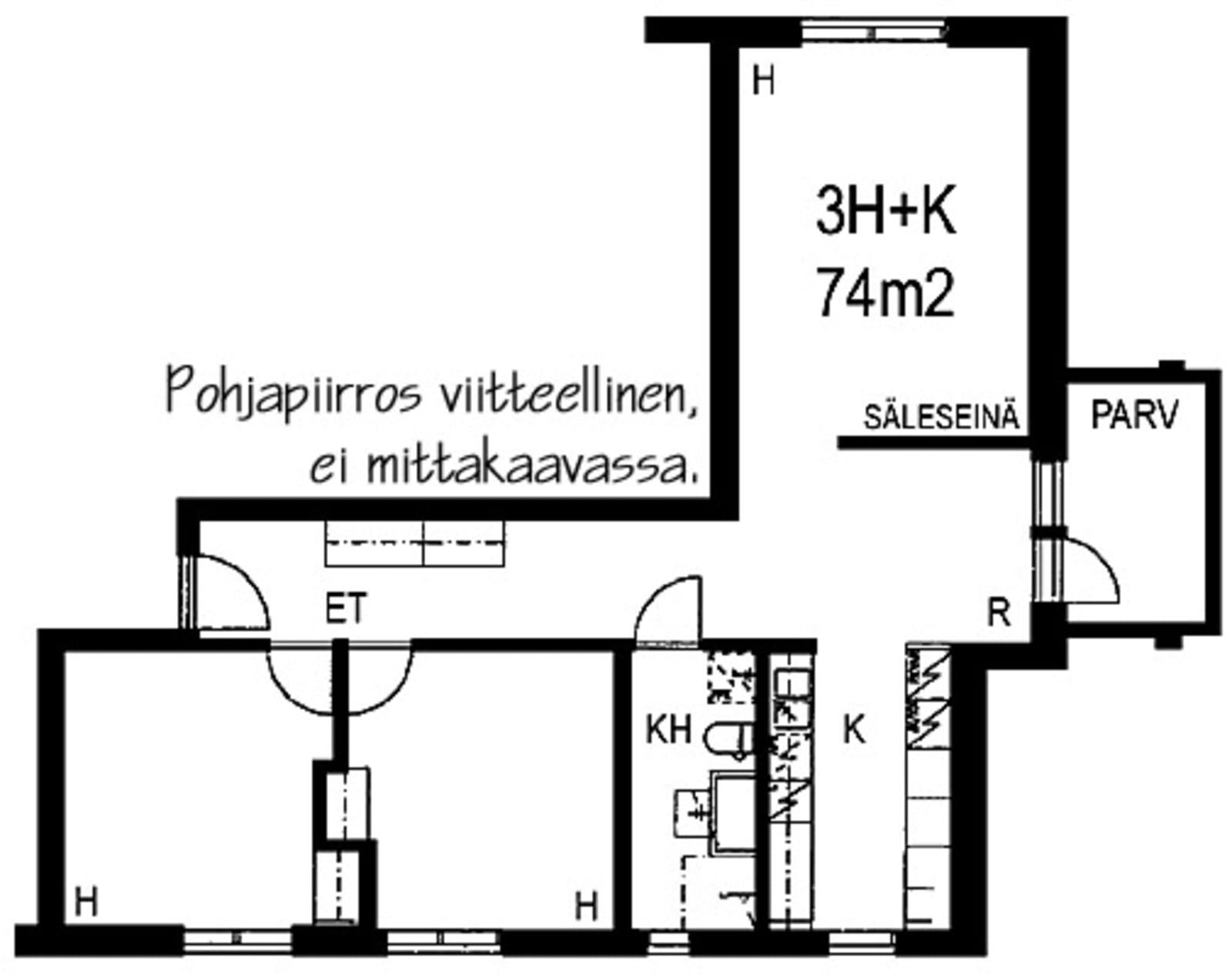 Helsinki, Pikku Huopalahti, Tilkankatu 6 F 063