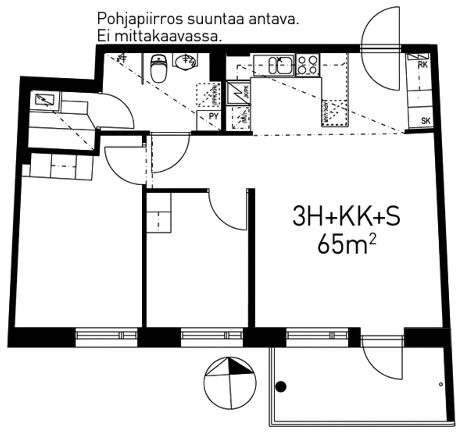 Helsinki, Pitäjänmäki, Kutomotie 8a A 006