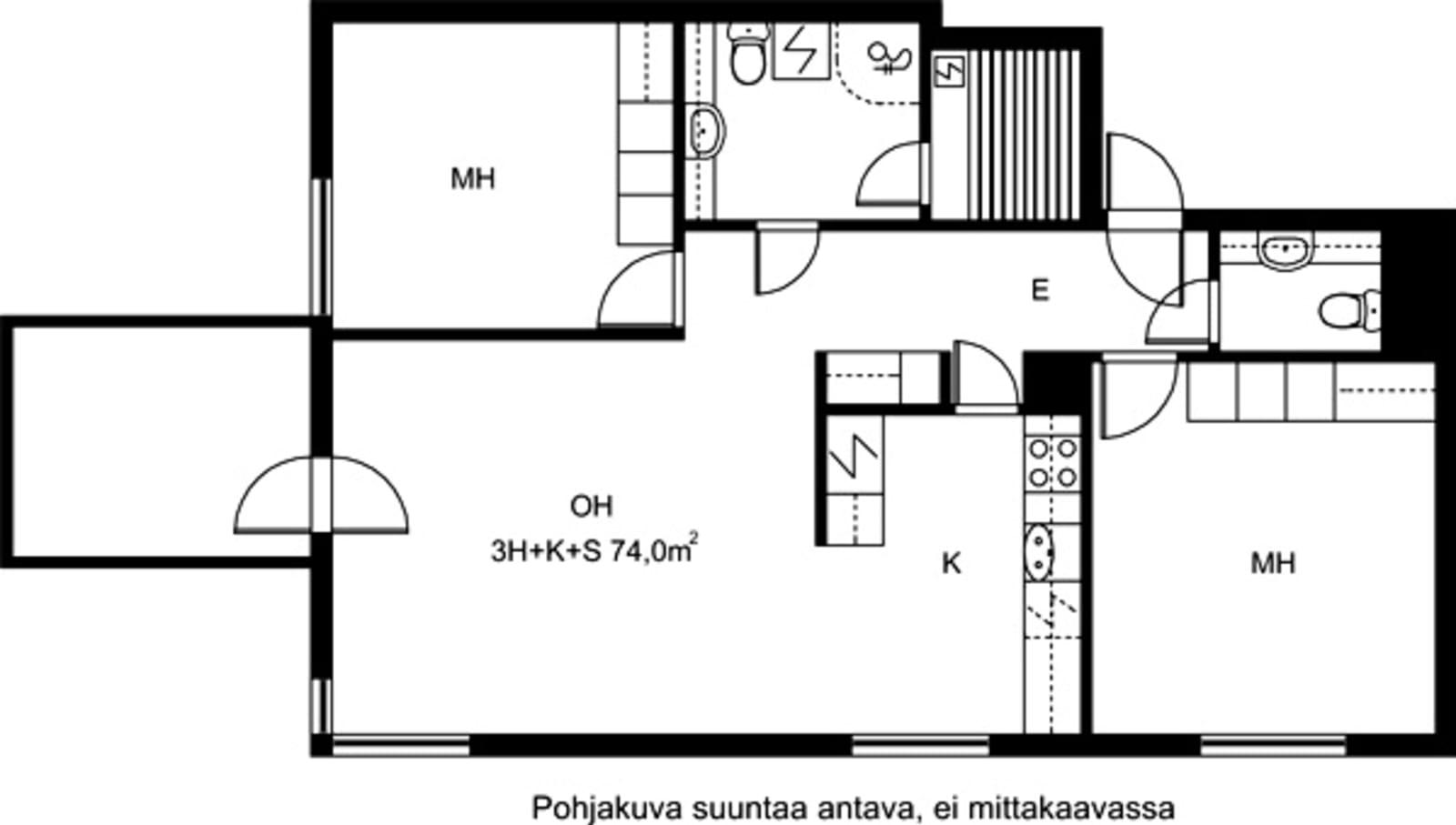 Helsinki, Pitäjänmäki, Piispantie 7 A 003