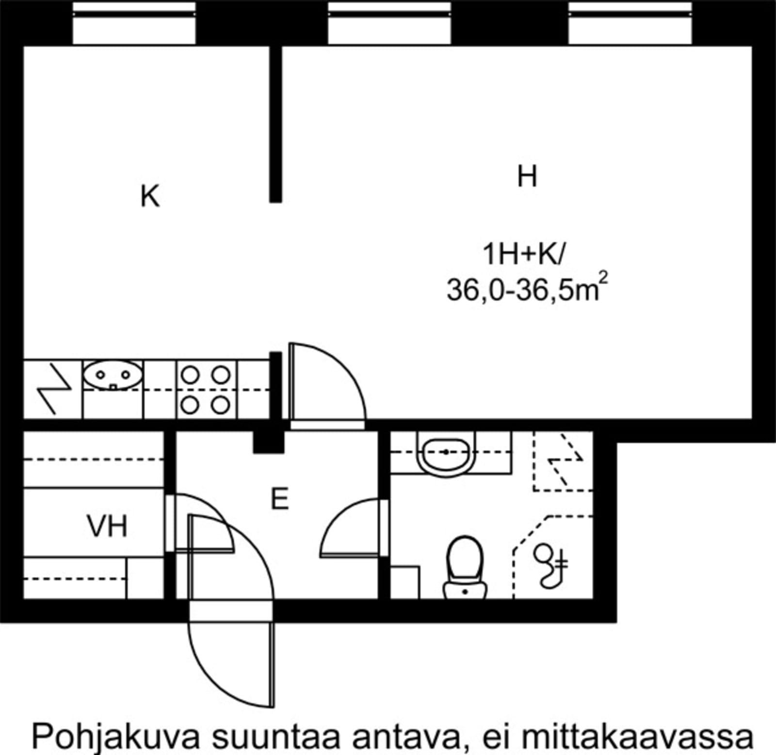 Helsinki, Taka-Töölö, Urheilukatu 38 A 019