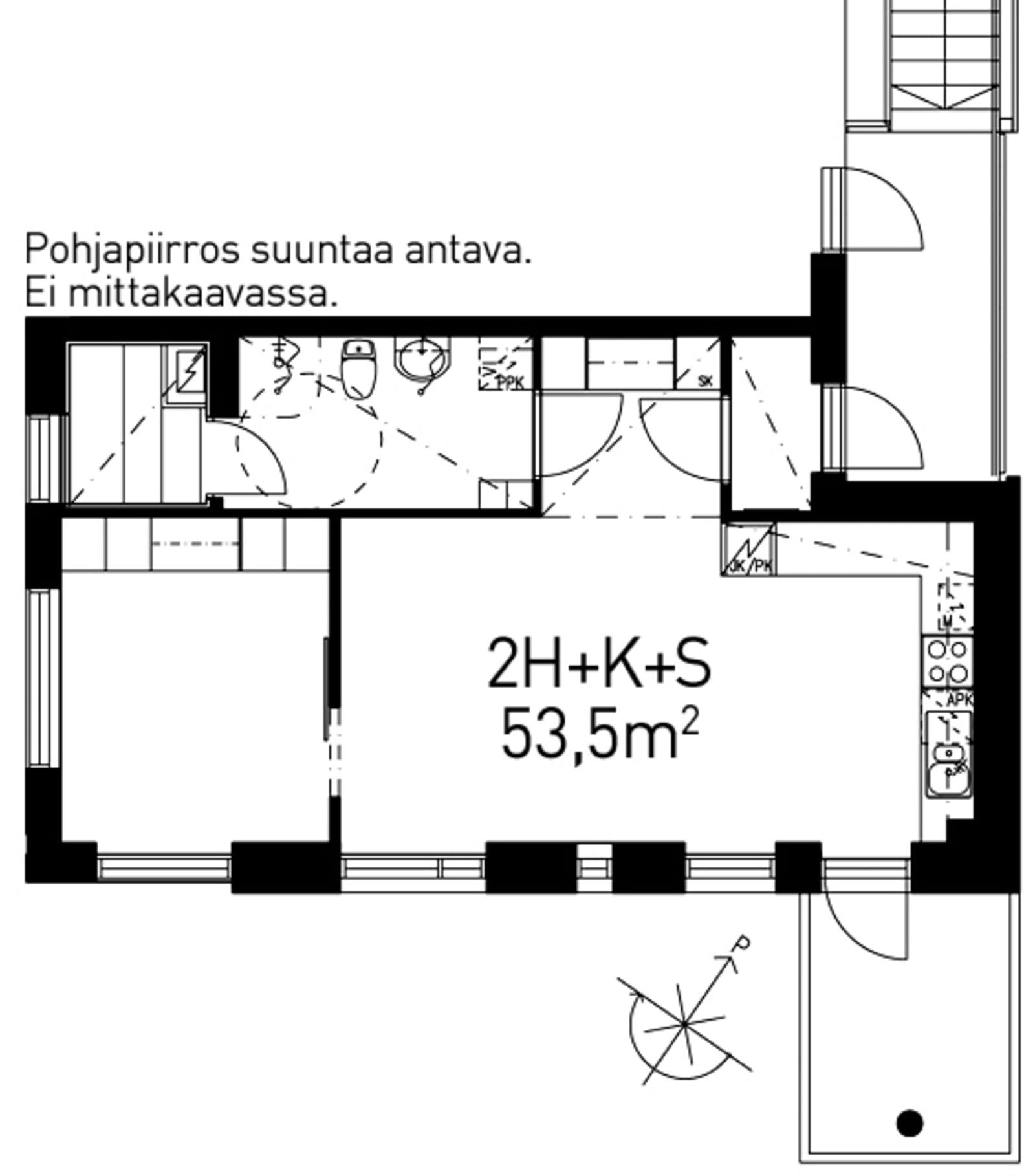 Helsinki, Viikki, Nils Westermarckin kuja 18 D 051