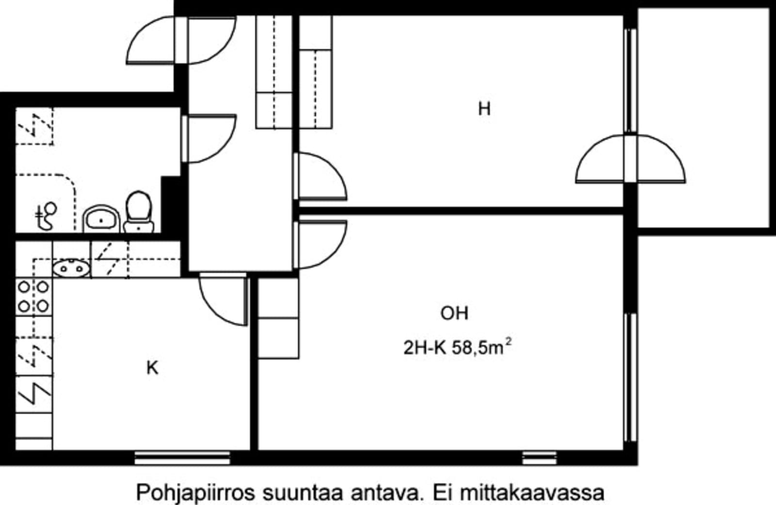 Helsinki, Vuosaari, Meri-Rastilan tie 15 H 037