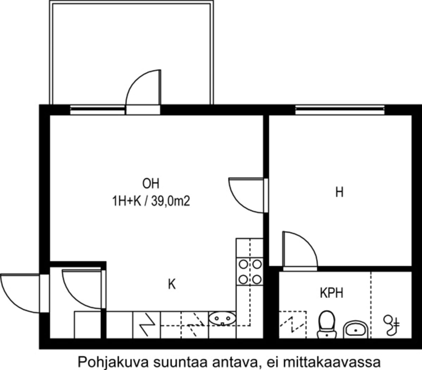 Kirkkonummi, Finnsbacka, Lukkarinmäki 1 D A 002