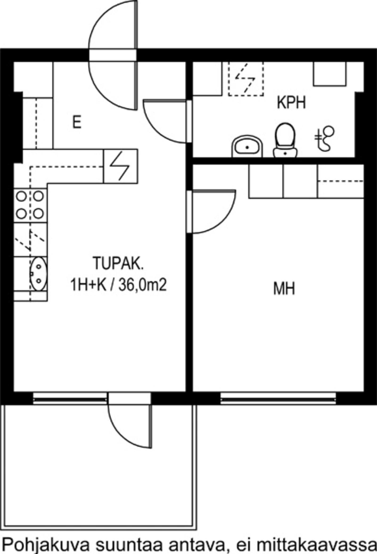 Kirkkonummi, Finnsbacka, Lukkarinmäki 1 D B 010
