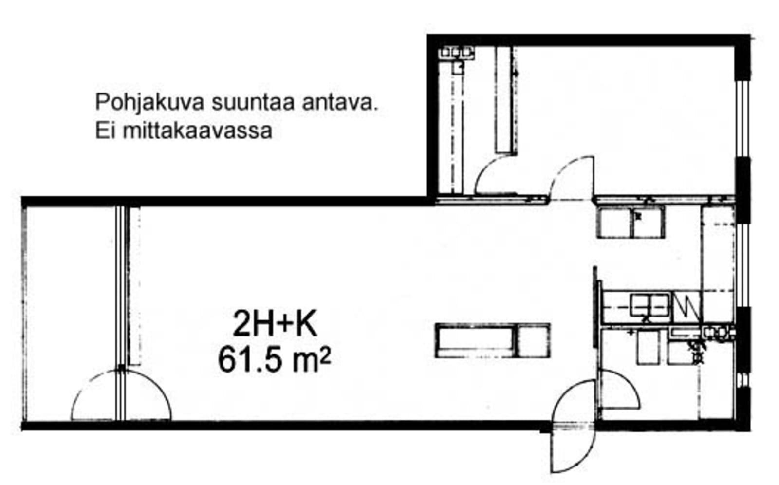 Oulu, Kaukovainio, Tuulihaukantie 9 B 012