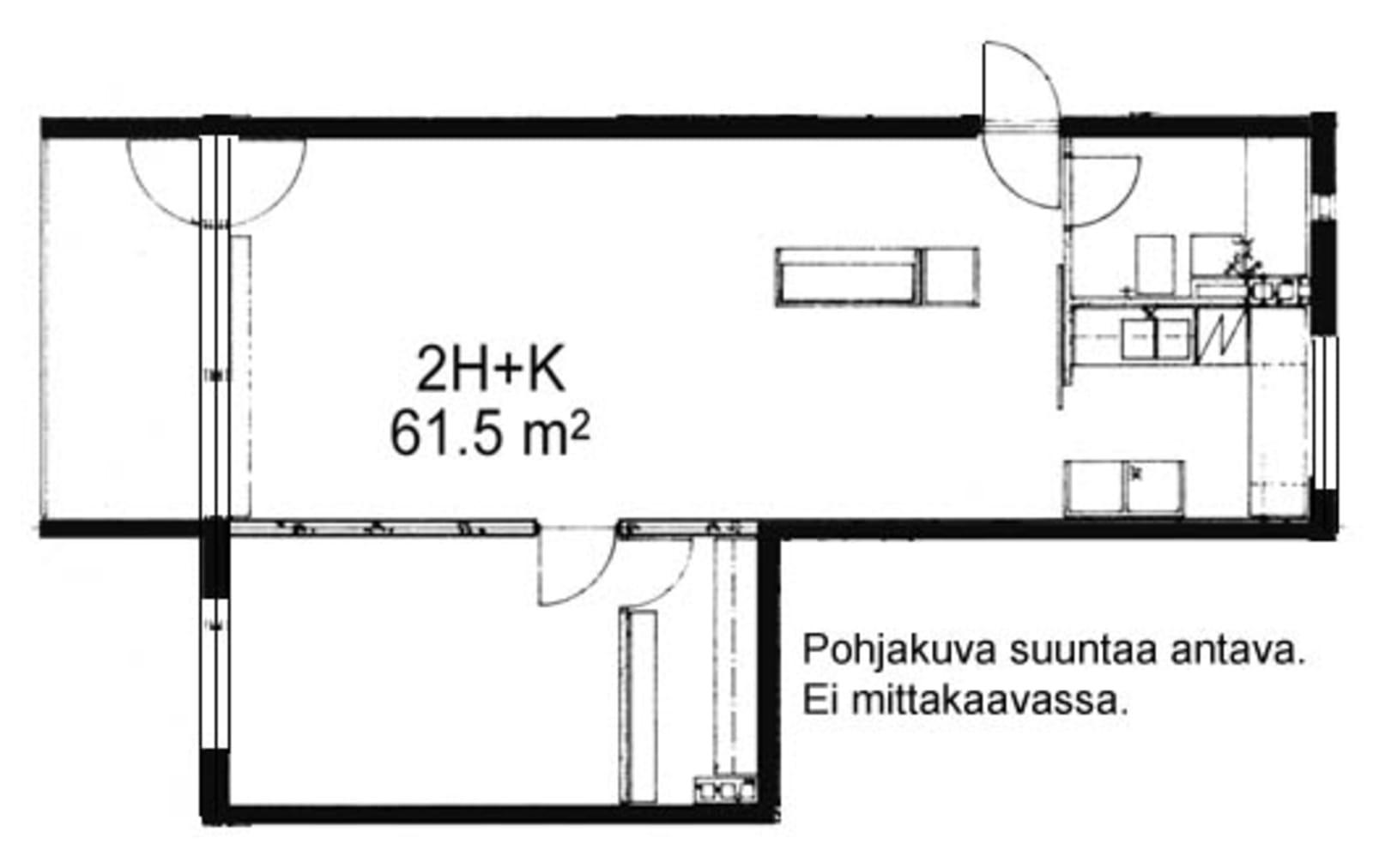 Oulu, Kaukovainio, Tuulihaukantie 9 A 012