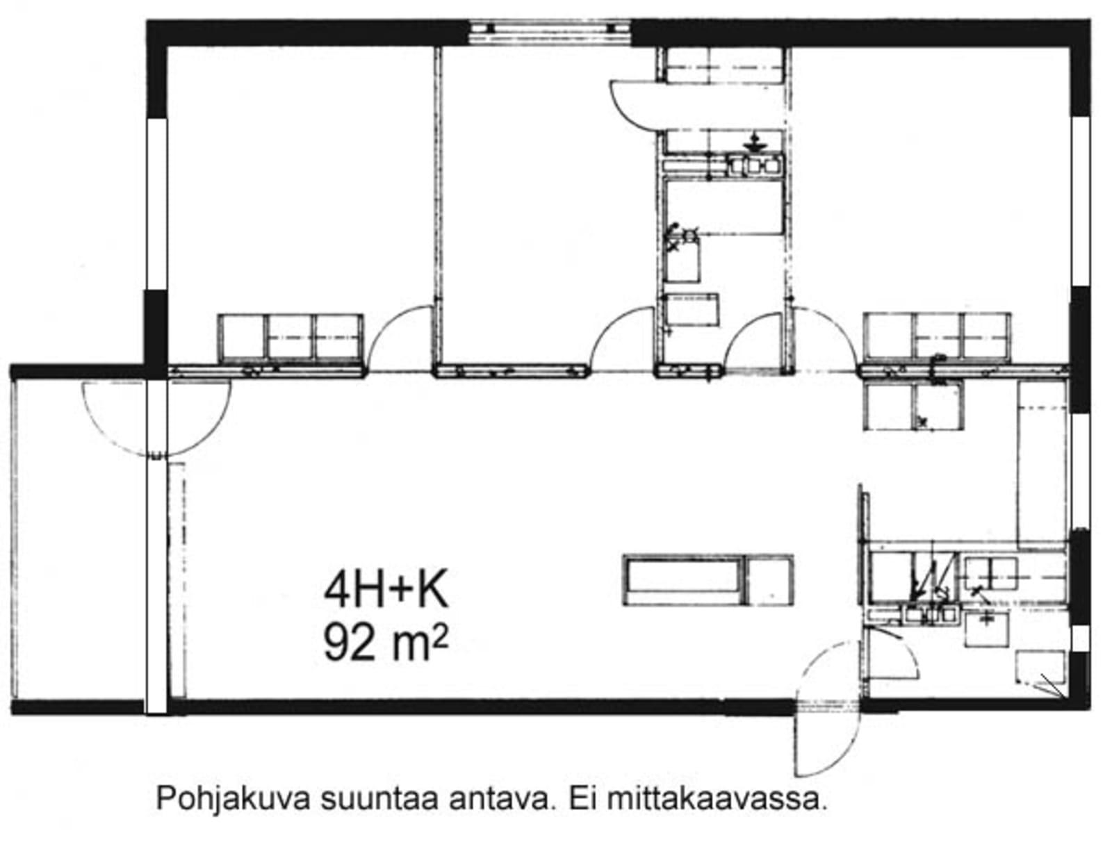 Oulu, Kaukovainio, Tuulihaukantie 9 A 014