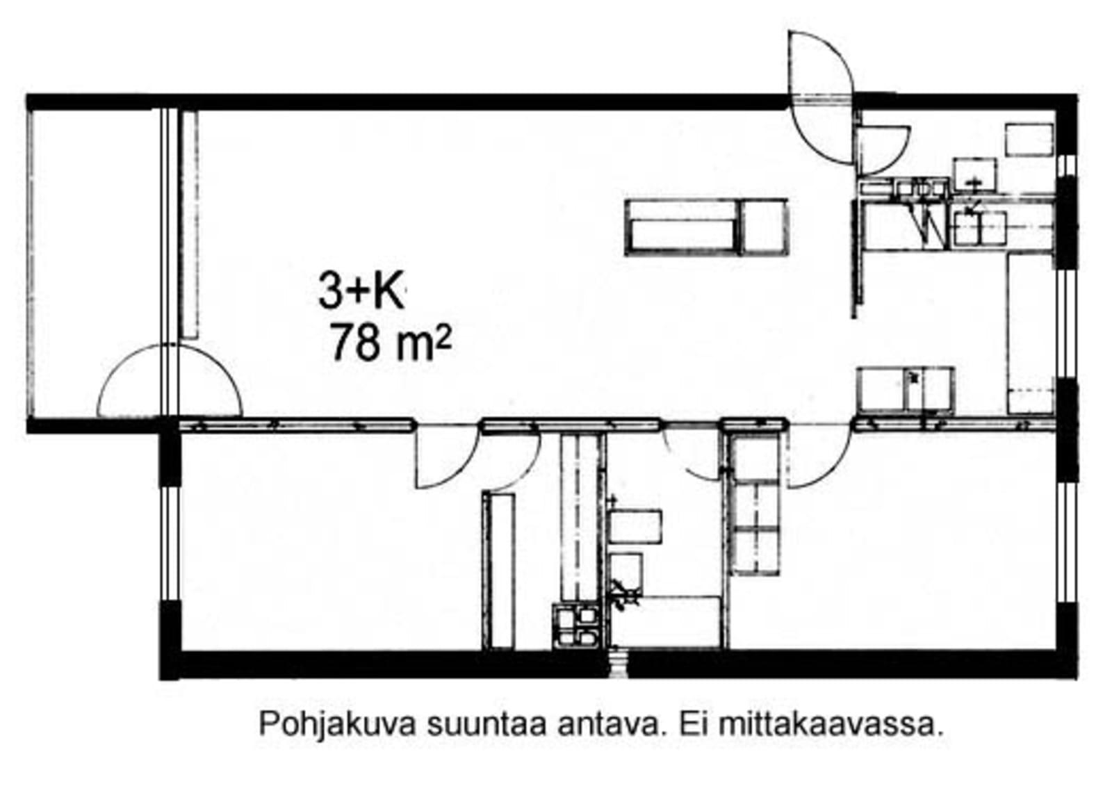 Oulu, Kaukovainio, Tuulihaukantie 9 B 013