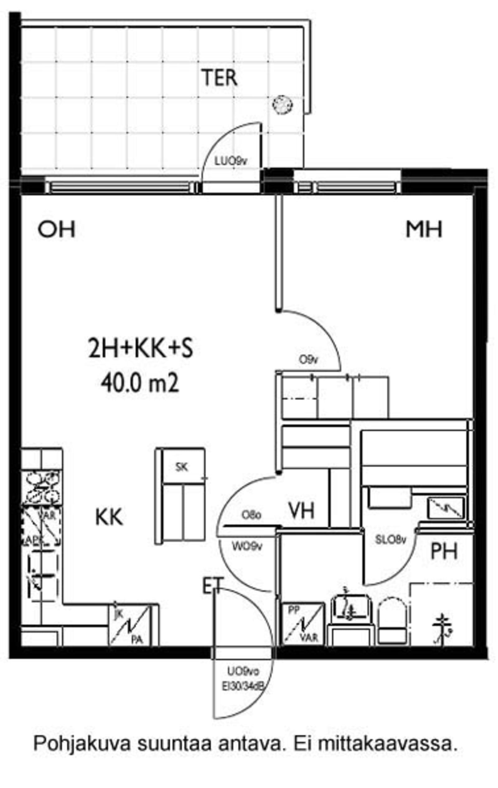 Oulu, Keskusta, Tervaraitti 2 A 004