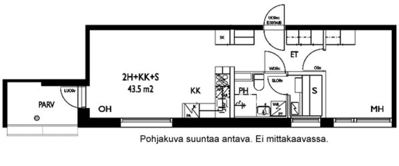 Oulu, Keskusta, Tervaraitti 2 A 001