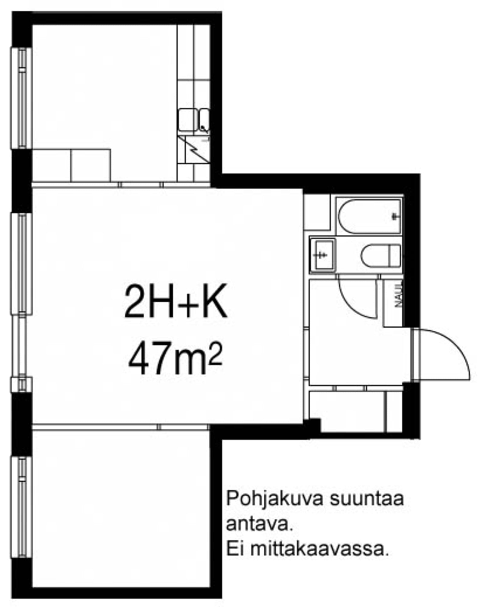 Oulu, Laanila, Laamannintie 15 B 014