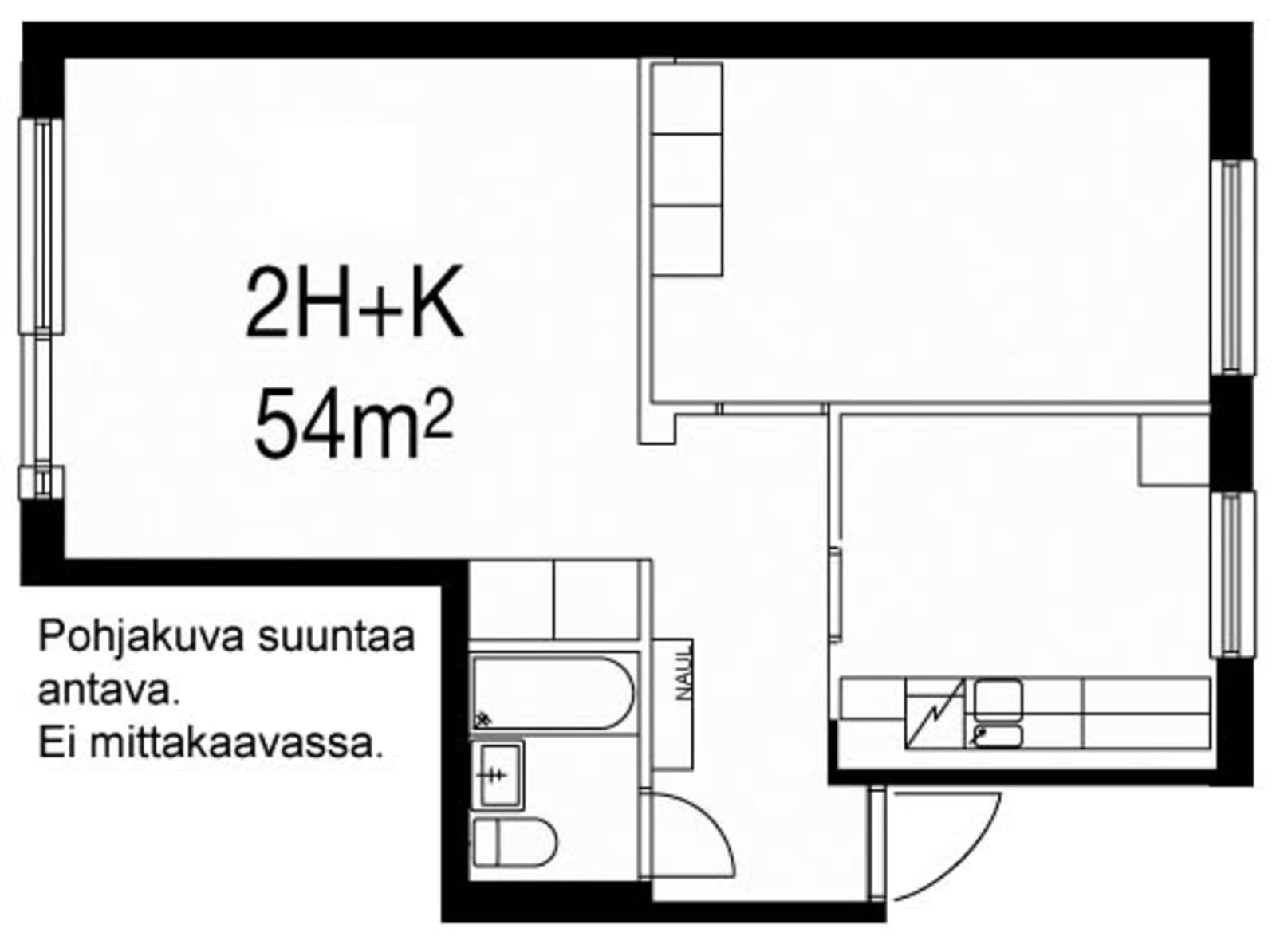 Oulu, Laanila, Laamannintie 15 A 001