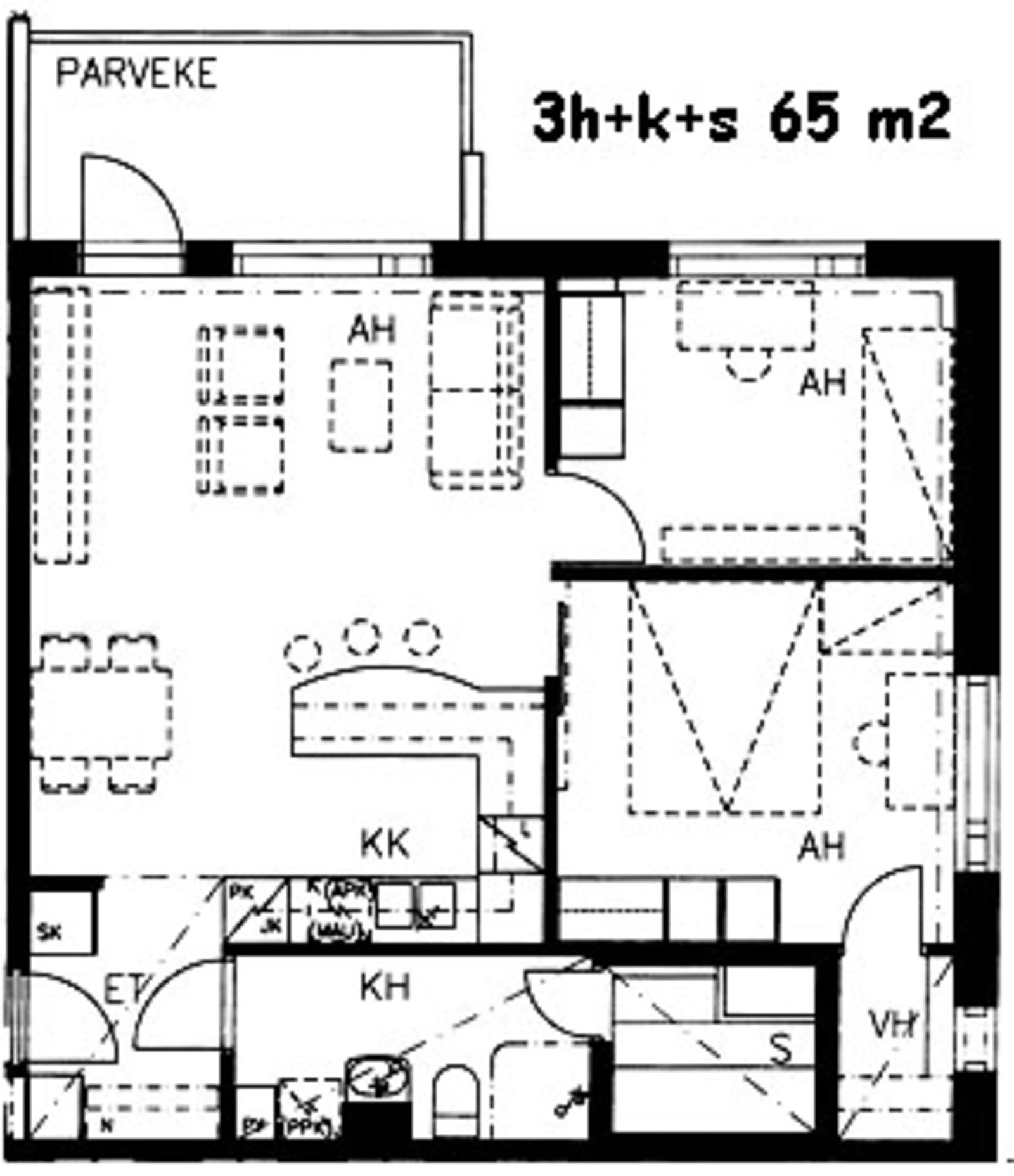 Turku, Itäharju, Ruukinkatu 1 a B 047
