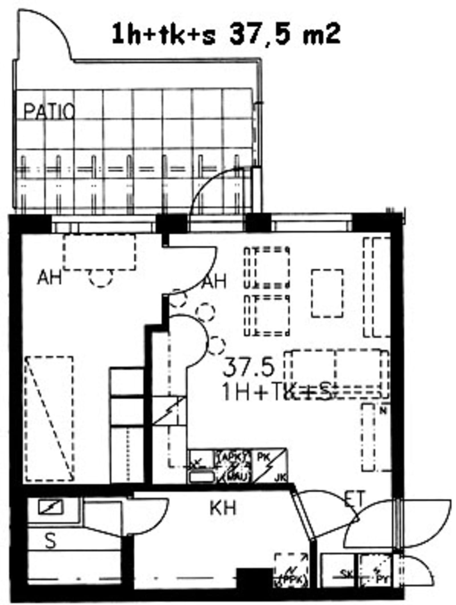 Turku, Itäharju, Ruukinkatu 1 a B 046