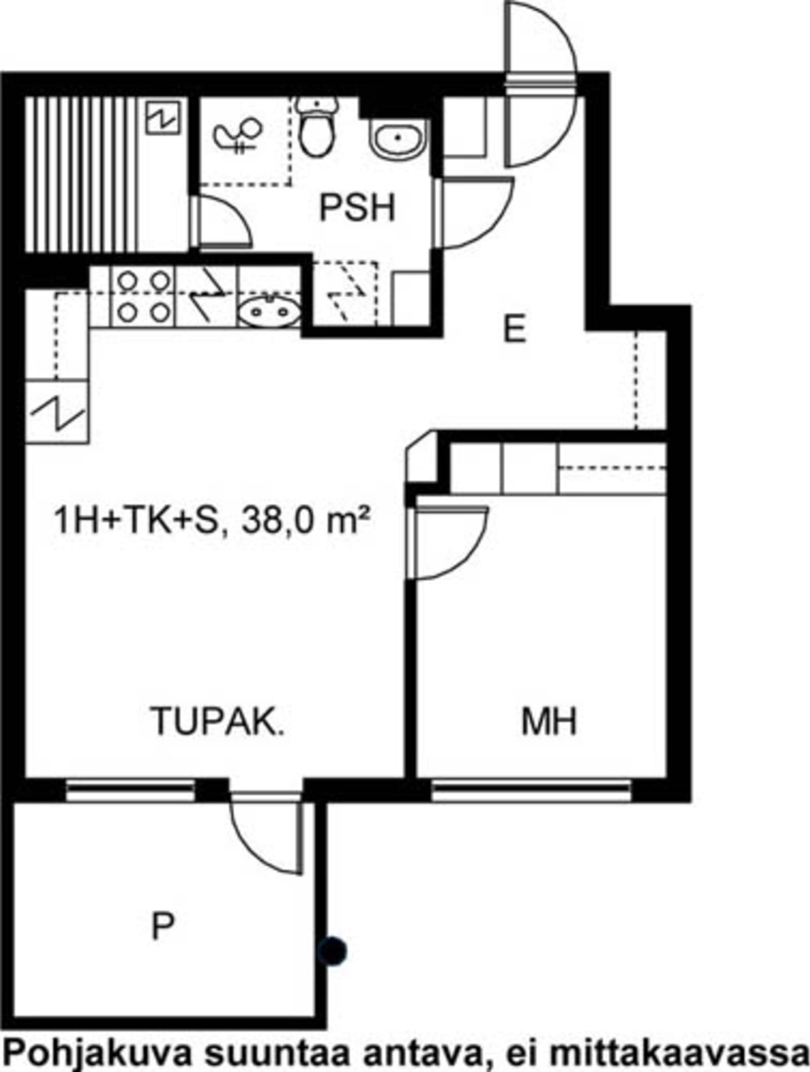 Turku, Kaerla, Kairialankatu 3 A 003