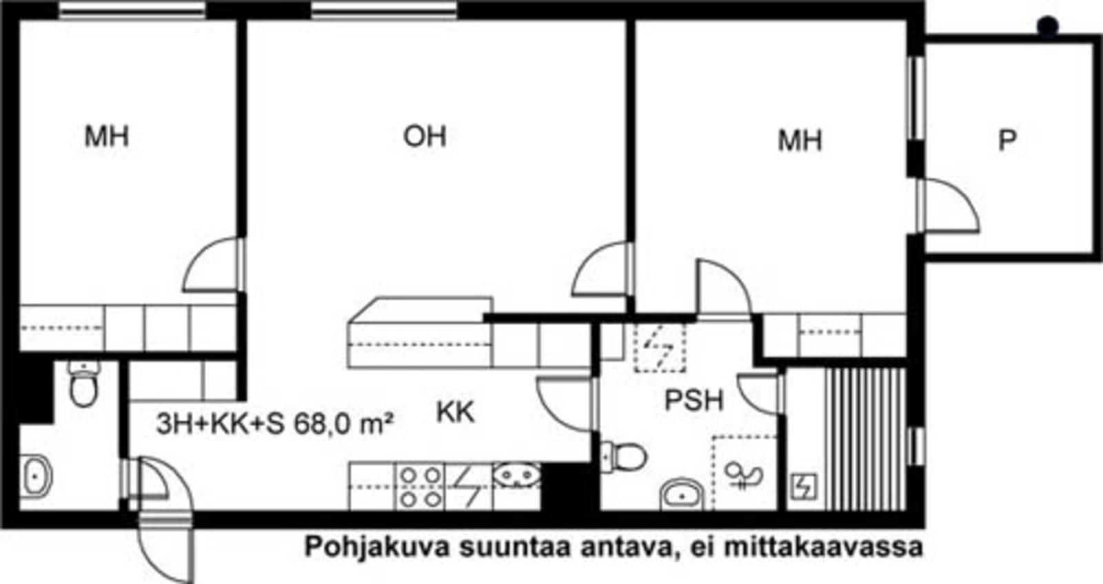 Turku, Kaerla, Kairialankatu 3 A 005