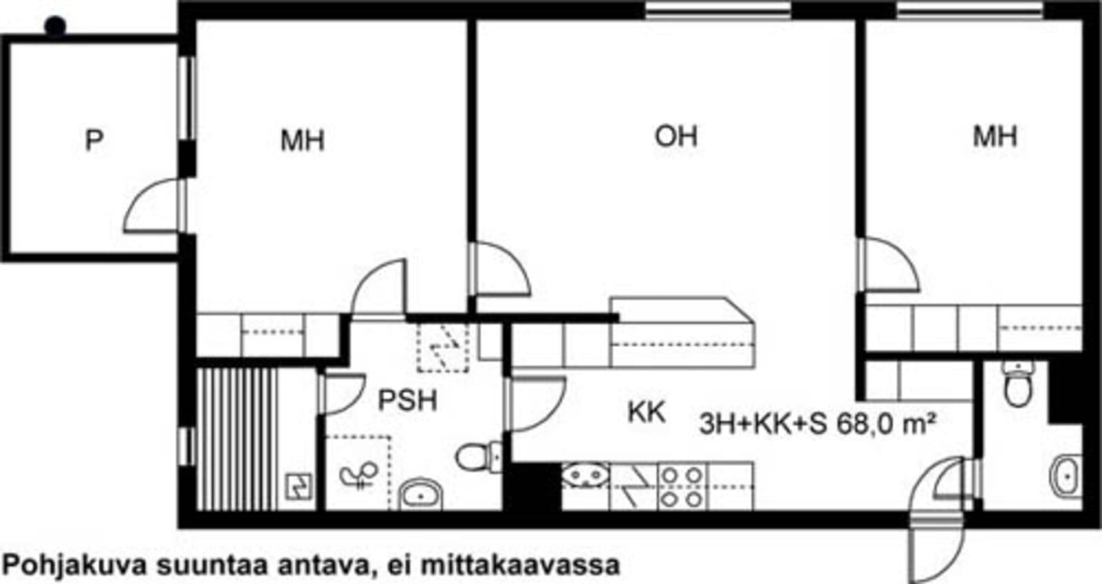 Turku, Kaerla, Kairialankatu 5 A 010