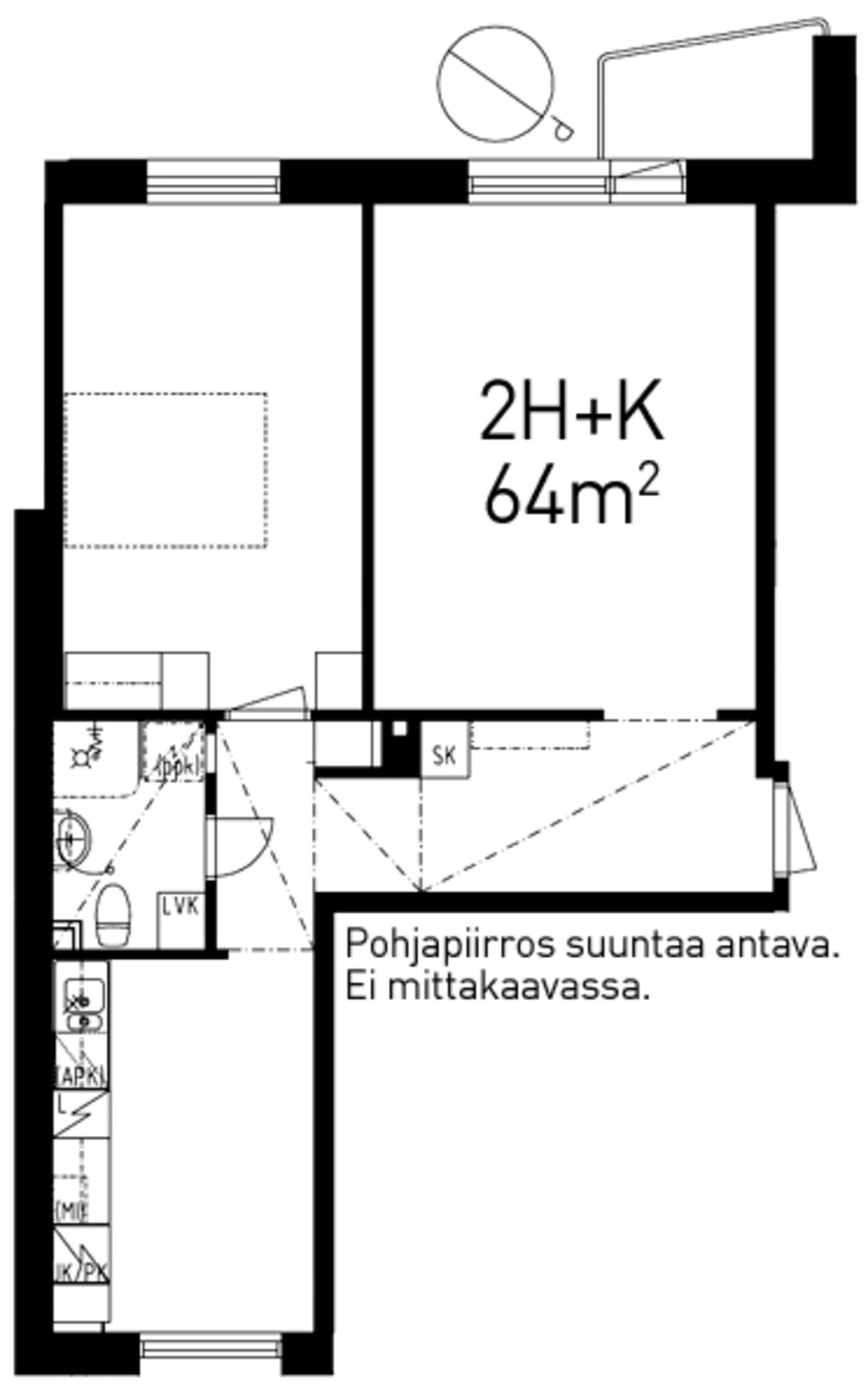 Turku, Keskusta, Uudenmaankatu 13 A 032