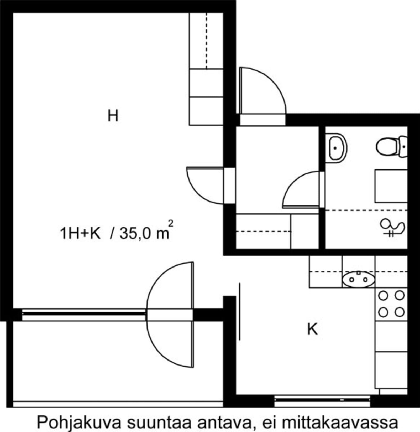 Vantaa, Hakunila, Heporinne 4 C 055